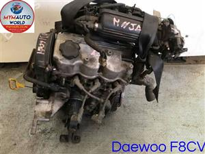 Imported used  DAEWOO MATIZ/CHEV 0.8L 3 CYLINDER CARB, F8CV CARB Complete second hand used engines