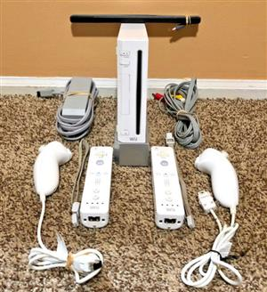RV-001 Nintendo Wii Sports Resort White Console