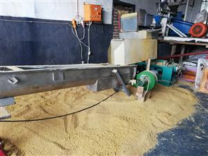 Soyameal extrusion plant
