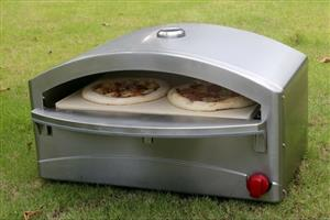 Atlas Stainless Steel Gas Pizza oven