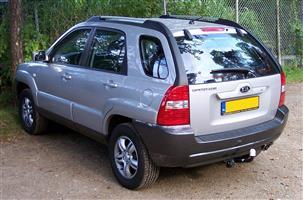 2006 Kia Sportage 2.7 4x4 automatic