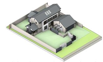 3 Bedroom Double store house Building Package in Midstream Meadow