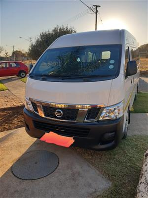 2015 Nissan NV350 panel van wide body 2.5i
