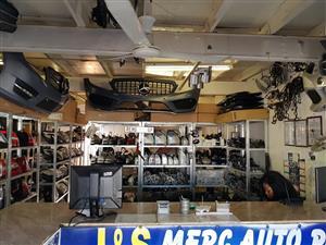 Used/Second hand Mercedes Benz spare parts in Pretoria