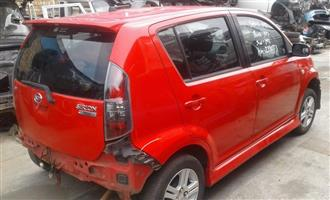 Diahatsu Sirion 1.3lt 2008 Stripping for spares
