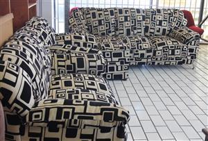 3 piece lounge suite S030567A #Rosettenvillepawnshop