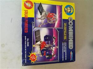 Combined solar powered toy for sale
