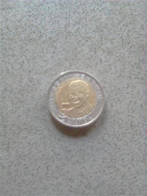 Selling Mr Mandela coin