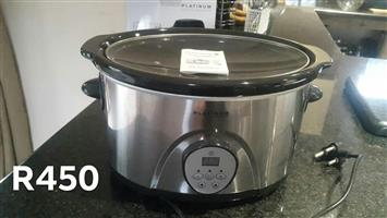 Platinum slow cooker