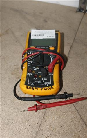 TOP TRONIC MULTIMETER WITH FITTINGS S039740A #Rosettenvillepawnshop