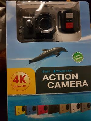 Ultra HD 4K Sports WiFi Action Camera