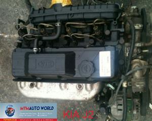 Imported used KIA BONGO 2.7L DIESEL J2 engine Complete