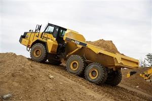 Dump truck bulldozer grader excavator front end load excavator