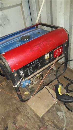 Mac-afric 6.5kwa  petrol generator