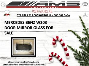 MERCEDES W203 DOOR MIRROR GLASS