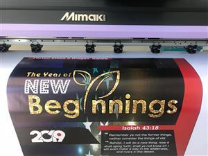 Refurbished Mimaki 1.3m Print and Cut Printer for Sale