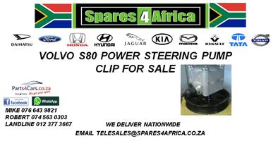 VOLVO S80 POWER STEERING PUMP CLIP ON FOR SALE