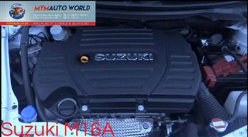 Imported used  SUZUKI GRAND VITARA/SWIFT, M16A engine Complete