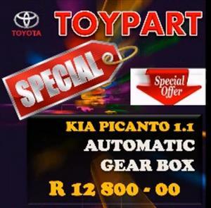 KIA Picanto 1000cc & 1.1 engines, gearboxes & spares - TOYPART