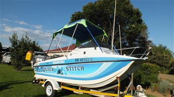 Z Craft Invader 16.5ft Cat - Deep sea Fishing Boat