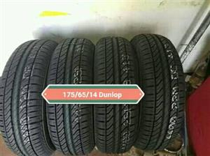 175/65/14 Dunlop New Tyres for Sale