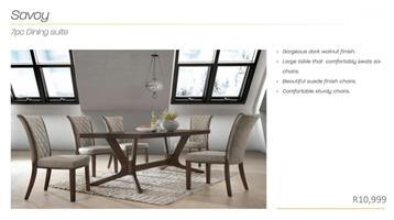PERILLI Savoy Dining Set