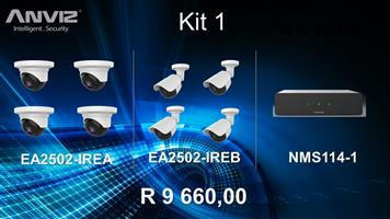 Anviz Surveillance Equipment / Toesig Beheer Toerusting