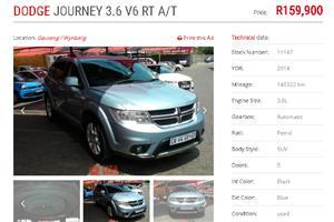 2014 Dodge Journey 3.6 R/T