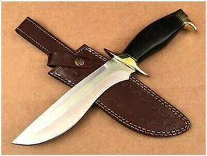 Handmade Stainless Steel Bowie Knife 13""