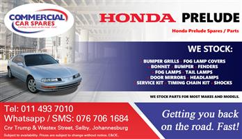 Honda Prelude Parts and spares for sale