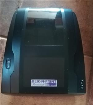 Klic-N-Print Thermal Ribbon Printer