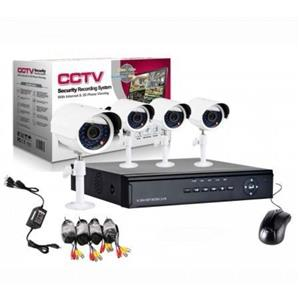 4 Channel CCTV Internet Phone Viewing