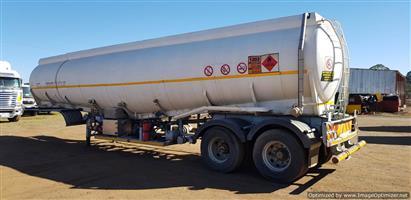 Diesel and Petrol fuel Tanker Trailer