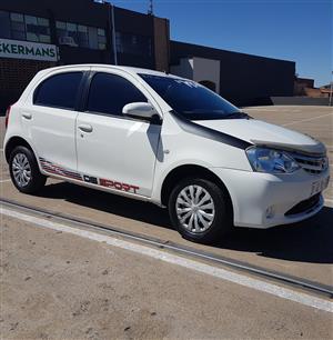 2015 Toyota Etios hatch ETIOS 1.5 SPORT LTD EDITION 5DR