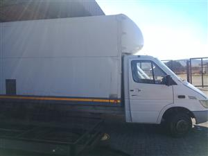 W904 SPRINTER PANEL VAN STRIPPING FOR PARTS OR  SHELL