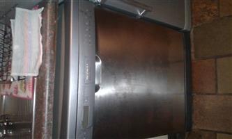 Silver Kelvinator dishwasher
