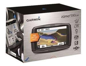 Garmin Zumo 590LM Motorcycle GPS Navigation Device