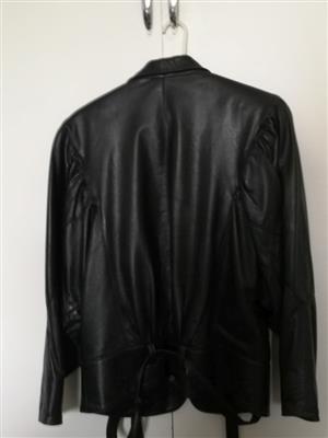 Genuine Ladies Leather Jacket