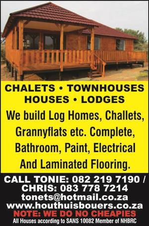 CHALETS - TOWNHOUSES - HOUSES - LODGES