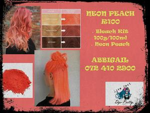 Neon Peach Junk Mail