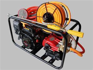 Magnum Fire Fighter/Power Sprayer in frame Price incl vat