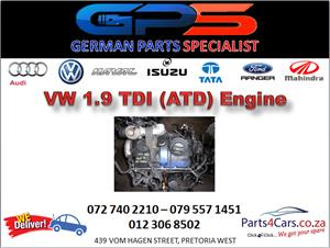 VW ATD 1.9 TDI Engine for Sale