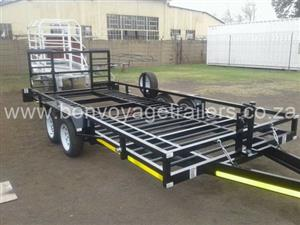 5 X 2 Ribbed Car Trailer For Sale