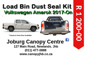 VW AMAROK 2017 - CURRENT LOAD BIN DUST SEAL KIT