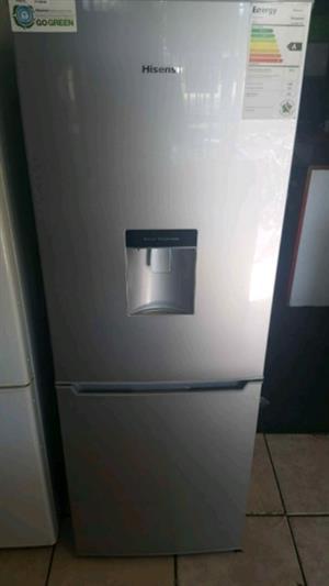 Hisense Metallic Fridge with water dispenser   Junk Mail