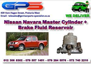 Used Nissan Navara Master Cylinder + Brake Fluid Reservoir for Sale