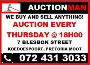 Auction every Thursday