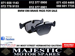 Bmw e90 brake pads for sale