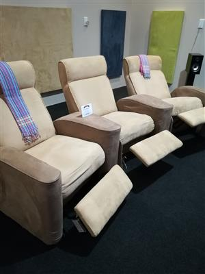 Cinema Seating, recliner foe your Hi Fi room!