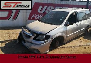 Mazda MPV 4WD, Stripping for Spares